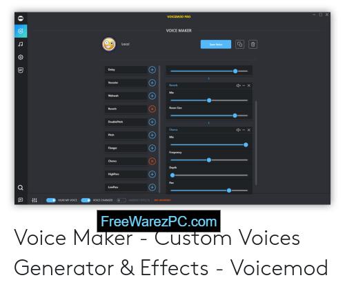 Voicemod Pro activation key free