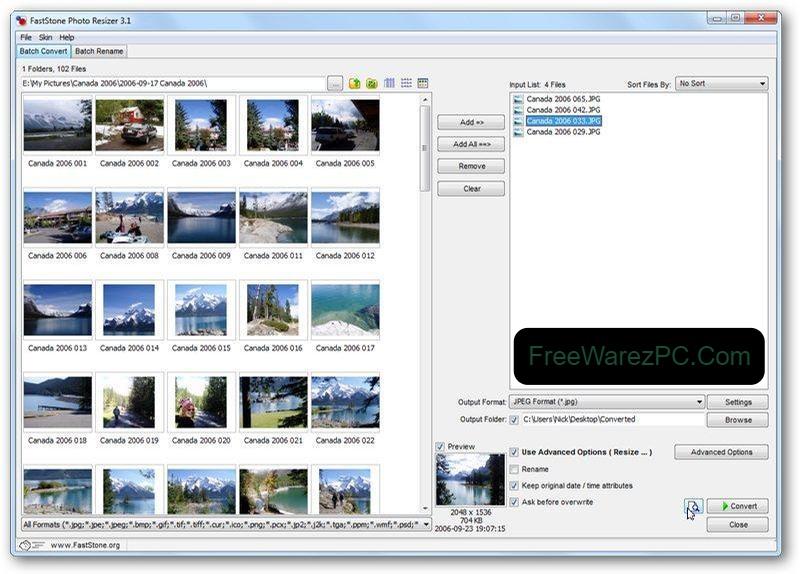 FastStone Photo Resizer torrent