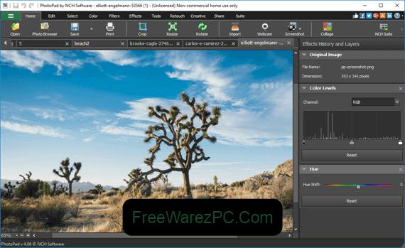 NCH Photopad Image Editor Pro Registration Code